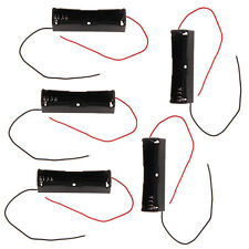 5 X Plastic Battery Holder Storage Box Case for 1x 18650 Rechargeable Battery F