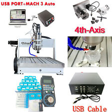 USB Mach3 4axis CNC router 6040 2.2KW Spindle Engraving Milling Carving Machine