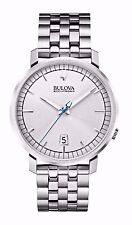 Bulova Men's 96B216 Accutron II Quartz Silver Dial Stainless Steel Dress Watch