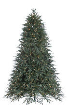 """7.5' x 60"""" Pre-Lit Fir Artificial Holiday & Christmas Tree with Clear Lights"""