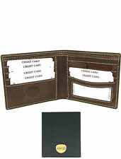 Mens Luxury Leather Wallets - Brown Hunter Wallet For Men - High Quality -Veroli