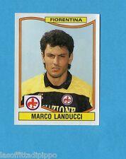 PANINI CALCIATORI 1990/91-Figurina n.97- LANDUCCI - FIORENTINA -Rec
