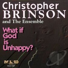 Christopher Brinson - What If God Is Unhappy - New Factory Sealed CD