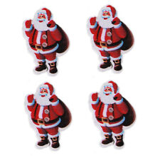 50pcs HOT XMAS Backpack Santa Claus Wood Buttons Sewing Scrapbooking On Sale C