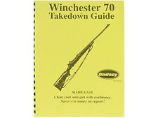 Winchester Model  70  Takedown Disassembly Assembly Guide Radocy  NEW