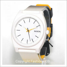 NIXON MENS TIME TELLER  P FADE POLYCARBONATED ANALOG WATCH A1191327