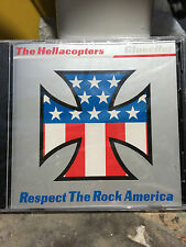 Hellacopters Gluecifer Split CD OOP 1999 Respect The Rock MC5 Man's Ruin Kozik