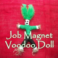 Job Magnet Voodoo Doll Employment Success Find Work Spell Ritual Hoodoo Kit