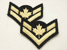 CANADA Canadian Armed Forces MINI CORPORAL sleeve chevrons stripes women's ?
