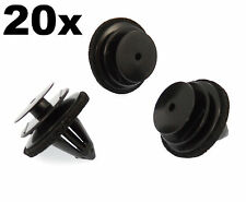 20x Plastic Trim Clips for Door Cards, Fascia & Trim Covers- Fit Various Nissan