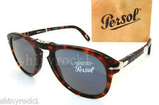 Authentic PERSOL Steve McQueen 714SM Folding Sunglass PO 714 - 24/56 *NEW* 54mm
