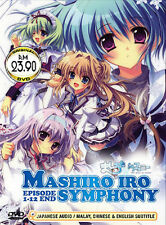 Mashiro-iro Symphony: The Color of Lovers (TV 1 - 12 End) DVD + EXTRA DVD