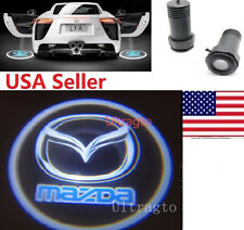 LED Car door laser Emblem Logo led Ghost Shadow Light Mazda 3 6 RX8 RX-7 CX-5