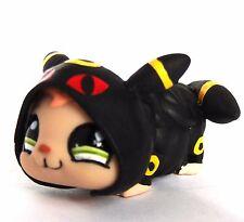 Littlest Pet Shop Pokemon Umbreon hamster ooak custom figure LPS pajamas onesie