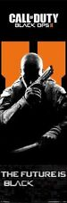 CALL OF DUTY BLACK OPS 2 THE FUTURE IS BLACK DOOR POSTER 21X62 POSTER NEW