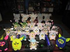HUGE Mixed lot of Furby Lot Baby Regular & Large Size Non Working & TLC