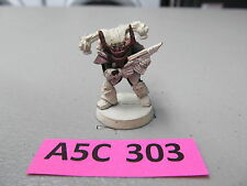 Warhammer 40k oop partially painted metal Chaos Space Marine Rengade World Eater