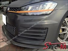For Volkswagen Golf GTI7 MK7 2015+ only Carbon Fiber Front Bumper Spoiler