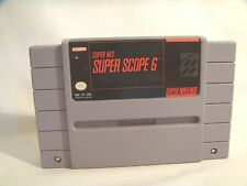 Super Scope 6 (Super Nintendo Entertainment System, 1992)  game only