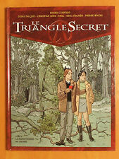 Le Triangle Secret T 2.Le jeune homme au Suaire .Convard.Falque.Gine.-Glénat EO