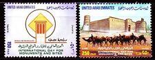 UAE 1999 ** Mi.613/14 Fort Burg Kamele Dromedary