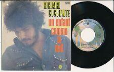 """RICHARD COCCIANTE 45 TOURS 7"""" FRANCE UN ENFANT"""