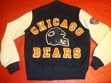 Chicago BEARS Vintage Chalk Line Wool Jacket Small Letterman Style jersey hat