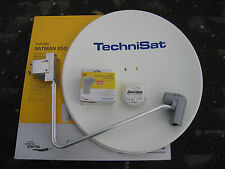 TechniSat SATMAN 850 Plus, 6785/8980,mit UNYSAT Quatro-Switch-LNB,polarweiß,neu