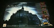 castlevania symphony of the night ad touching!!! attached!!! rare htf konami ps1