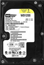 WESTERN DIGITAL WD1200JB-22GVA0 120GB IDE HARD DRIVE DCM: DSBHCTJCH