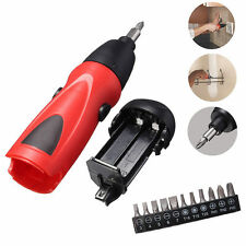 New 6V Electric Screwdriver Battery Operated Cordless Screwdriver Drill Tool