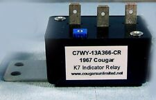 C37) 1967 Cougar Turn Signal K7 Indicator Relay C7WY-13A366-CR