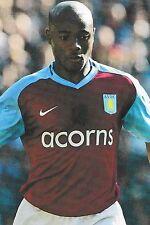 Football Photo NIGEL REO-COKER Aston Villa 2008-09