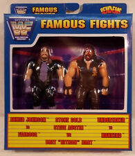 WWF WWE Just Toys Bend-Ems Famous Fights The Undertaker vs Mankind (MISB)