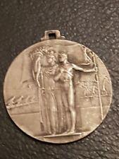 medaglia fascista GIL Milano Argento