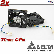 Chassis case sistema COOLER VENTOLA 70x70x15mm 70mm 4-pin 12v afb0712hhb DELTA