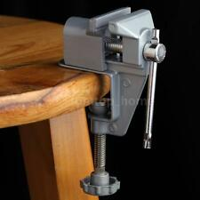 New 30mm Aluminum Alloy Mini Bench Clamp Vise Table Vice for Electric Drill N3E0