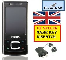 New condition Nokia 6500 Slide Black 3G Sim Free Unlocked Brand Mobile Phone GSM