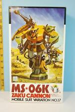 Bandai Gundam 1/100th MS-06K Zaku Cannon Mobile Suit Variation No. 17