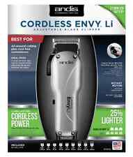 Andis Cordless Envy 73000 Li Adjustable Blade Zero Gapped Clipper 110/220 Volts