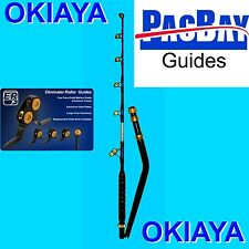 OKIAYA BENT BUTT 80-130LB VENOM PRO Rod PAC BAY GUIES FOR PENN TIAGRA SHIMANO