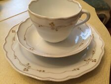 Hutschenreuther china cup, saucer and salad/dessert plate