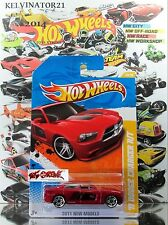 Hot Wheels 2011 #43 '11 Dodge Charger R/T RED,1ST COLOR,PR5,BLACK BASE,US