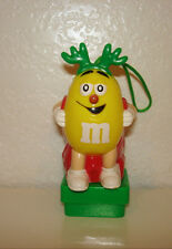 M&M M&M's Candy Yellow Christmas Topper Toppers Square Base Light Up