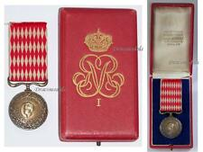 MOnaco Medal Honor 1C Prince Rainier III Military Civil Merit Service Decoration
