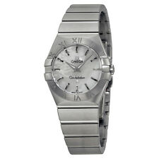 Omega Constellation 27 MM Mother of Pearl Dial Ladies Watch 12310276005001