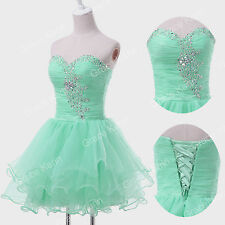 2016 PROMO~Short Mini Formal Dress Cocktail Evening Party Prom Grad Gown Dresses