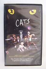 Cats Broadway Musical Play VHS Video Tape