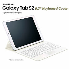 Original Samsung Keyboard Book Cover Case EJ-FT810 For Galaxy Tab S2 9.7 [White]