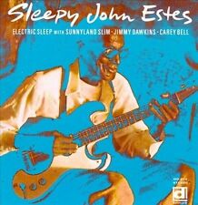 Sleepy John Estes Electric Sleep CD 1968 + Bonus Tracks Jimmy Dawkins HTF